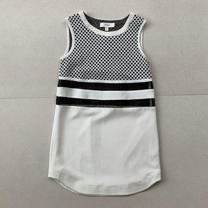 C/MEO COLLECTIVE White Mini Dress